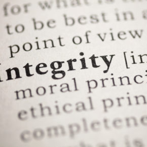 Don't Give It Away…Why Your Integrity Defines You