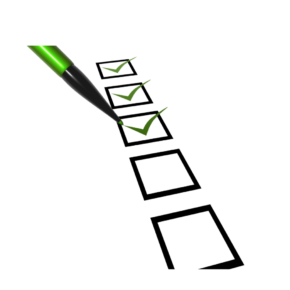 What's on Your Change Checklist? Knowing What to Look at First
